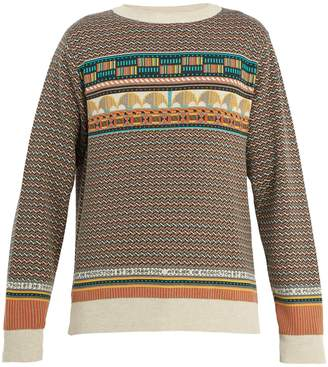 A.P.C. Arcade Pierre crew-neck cotton sweater