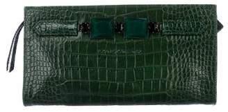 Kate Moss x Longchamp Embossed Neo Precious Clutch