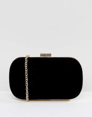 True Decadence Rounded Box Clutch Bag