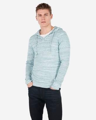 Express V-Neck Hooded Sweater