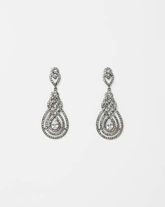 Nouveau Crystal Earrings