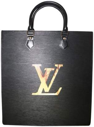 Louis Vuitton Sac Plat Fusion Epi Black