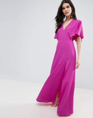 ASOS Open Side Kimono Sleeve Maxi Dress $72 thestylecure.com