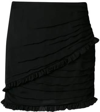 Magda Butrym wrap mini skirt