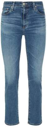 AG Jeans Isabelle High Waist Straight Jeans
