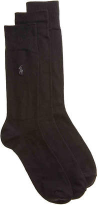 Polo Ralph Lauren Super Soft Crew Socks - 3 Pack - Men's