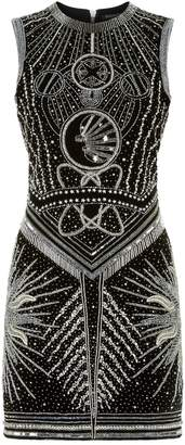 Balmain Embellished Constellation Dress