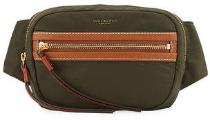 Tory Burch Perry Nylon Colorblock Belt Bag