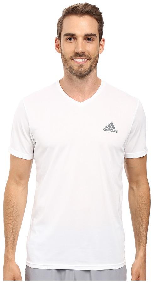 adidas - Essential Tech V-Neck Tee Men's T Shirt