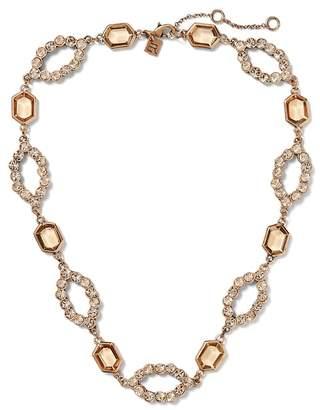 Banana Republic Jeweled Open Statement Necklace