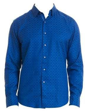 Robert Graham Diamante Print Button-Down