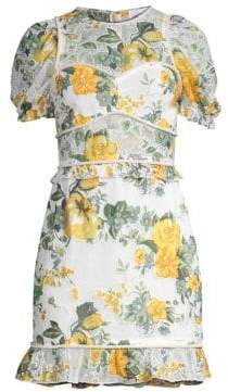 Alice McCall So Darling Floral Mini Dress