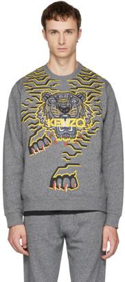 Kenzo (ケンゾー) - Kenzo グレー ジオ タイガー スウェットシャツ
