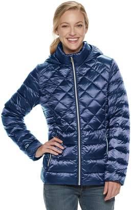 ZeroXposur Women's Vivian Hooded Quilted Packable Down Jacket