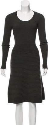 Derek Lam Long Sleeve Midi Dress