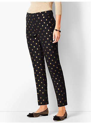 Talbots Chatham Ankle Pants - Foil Dots