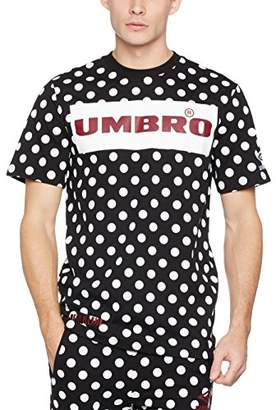 House of Holland Men's Umbro Plastisol Dot Tshirt T-Shirt,Large