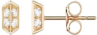 "Selin Kent Diamond Stud Earrings ""Sophia"""