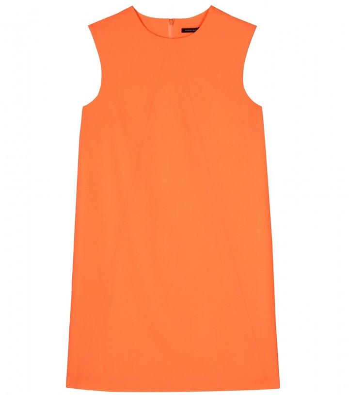 Christopher Kane WOOL CREPE SHIFT DRESS