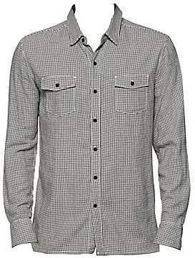 Paige Men's Evervett Slim Fit Plaid Shirt
