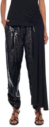 Tibi Sequined Lounge Pants