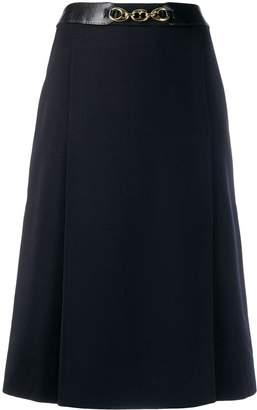 Celine Pre-Owned chain detail skirt