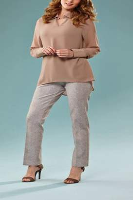 Insight Taupe Reptile Pant