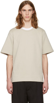 CMMN SWDN Beige Miles T-Shirt $180 thestylecure.com