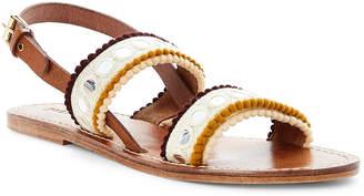 Dvlpmnt+ Milkshake Double Strap Slingback Sandals