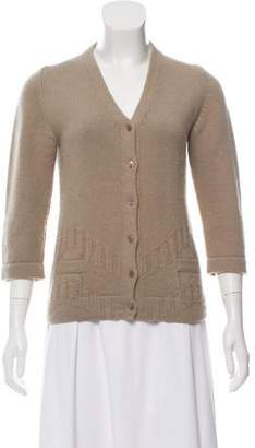 Calvin Klein Collection Wool Knit Cardigan