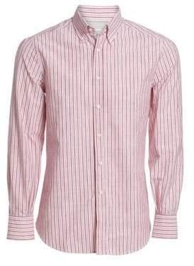 Brunello Cucinelli Washed Stripe Shirt