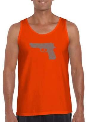 Pop Culture Los angeles pop art Men's tank top - right to bear arms