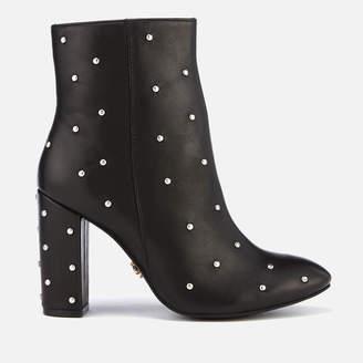 3b944a7ce193f Kurt Geiger London Women's Swiss Leather Heeled Ankle Boots - Black