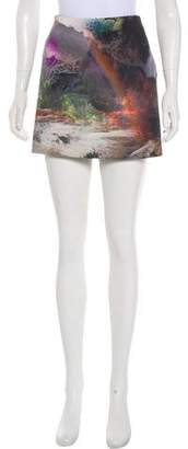 Ted Baker Printed Mini Skirt