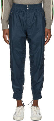 Isabel Marant Blue Harris Coated Trousers