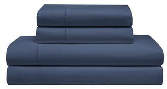 Elite Home Products KING COOLING COMFORT COTTON SOLID DUSK BLUE SHEET SETS