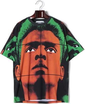 Moschino (モスキーノ) - MOSCHINO プリント クルーネック 半袖Tシャツ ミックス 44
