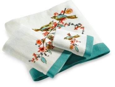 Simply Fine Chirp Print Bath Towel