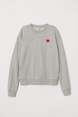H&M Sweatshirt - Gray