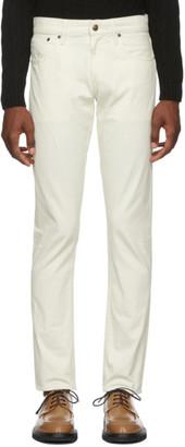 Ralph Lauren Purple Label Off-White Thomson Stretch Jeans