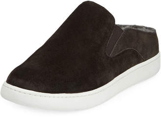 Vince Verrell Sneaker Mules with Shearling Fur Lining