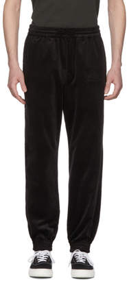 Wacko Maria Black Velour Lounge Pants