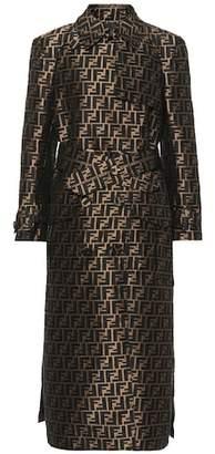Fendi Fil coupé coat