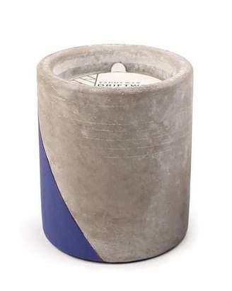 Paddywax Driftwood + Indigo Large Concrete Candle, 12 oz./340g