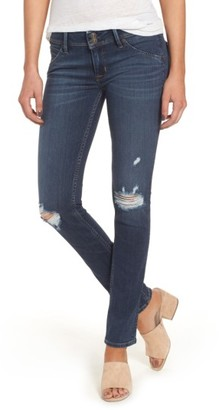 Women's Hudson Jeans Collin Supermodel Ripped Skinny Jeans $205 thestylecure.com