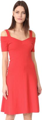 Three Dots Cold Shoulder Dress $92 thestylecure.com