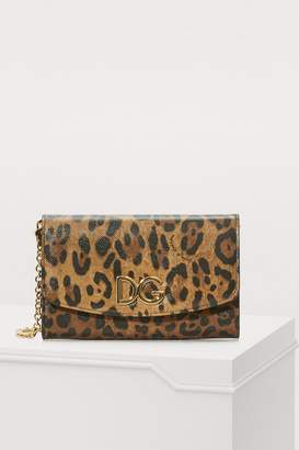 Dolce & Gabbana Leopard mini bag