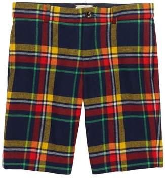 Gucci Plaid Bermuda Shorts