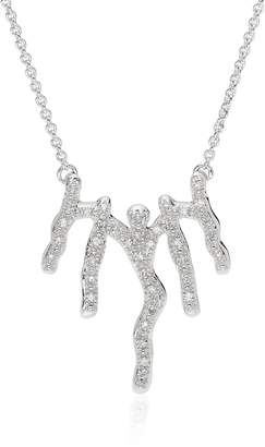 Monica Vinader Riva Waterfall Diamond Necklace