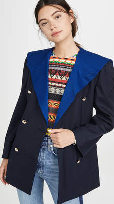 pushBUTTON Navy Sailor Double Jacket